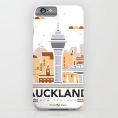 City Illustrations (Auckland, New Zealand) iPhone 6s Slim Case