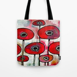 Poppies #4 Tote Bag