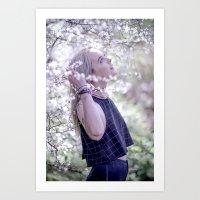 jasmine Art Prints featuring Jasmine by neutral density