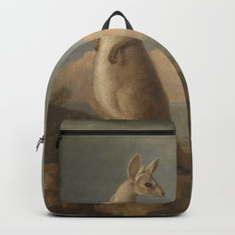 George Stubbs - The Kongouro from New Holland Backpack
