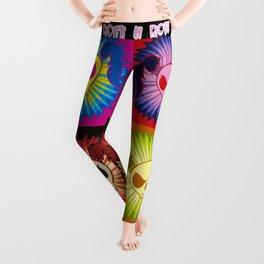 Rock N Roll Brat (pop art) Leggings