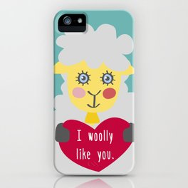 I woolly like you! iPhone Case