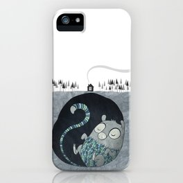 Let's bore for geothermal energy! iPhone Case