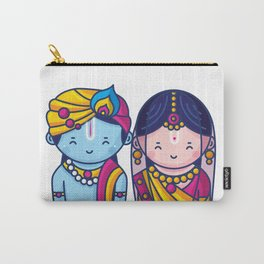Cute Radha Krishna Carry-All Pouch
