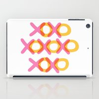 xoxo iPad Cases featuring XOXO by ghennah
