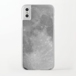 My Moon Clear iPhone Case