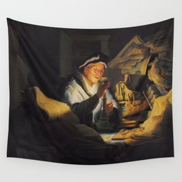 The Parable of the Rich Fool Wall Tapestry