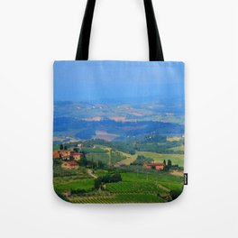 Hills of Tuscany Tote Bag