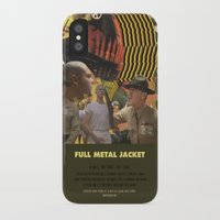 kubrick iPhone & iPod Cases featuring Full Metal Jacket - Stanley Kubrick by Smart Store