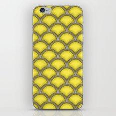 Large scallops in buttercup yellow iPhone & iPod Skin