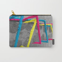 Noise Lines Carry-All Pouch