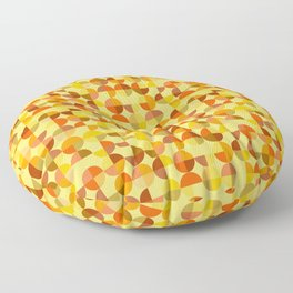 Abstract geometric background Floor Pillow