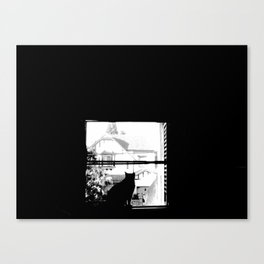 Looks Like Chaplin Canvas Print