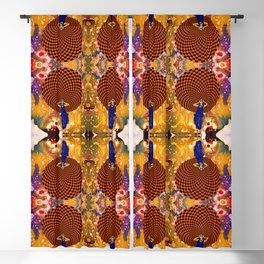 Confusion by Michael Moffa Blackout Curtain