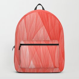 Reef Coral Living Color of the Year 2019 Abstract Pattern Fractal Fine Art Backpack