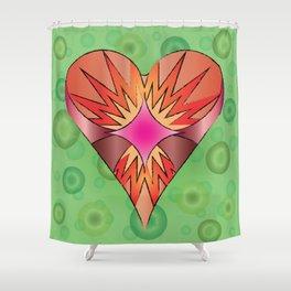 Valentines Shower Curtain