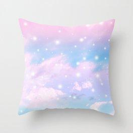 Pastel Cosmos Dream #4 #decor #art #society6 Throw Pillow