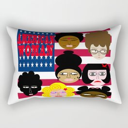 bbnyc american woman Rectangular Pillow