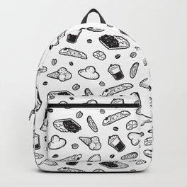 Sweet Sicily dream white Backpack