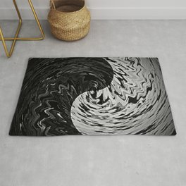 Conflicted Love Rug