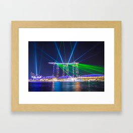 Marina Bay Sands Framed Art Print