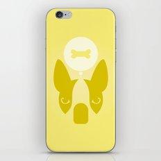 Boston Terrier Thoughts: Treats. iPhone & iPod Skin