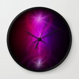 Purple Yggdrasil Wall Clock