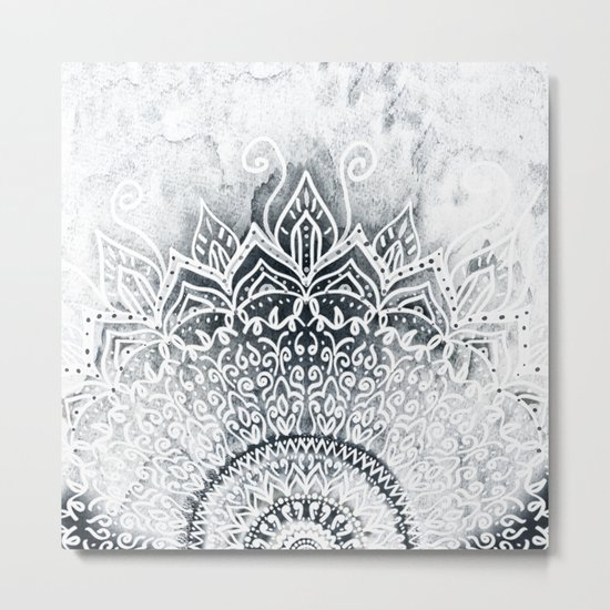 MINA MANDALA Metal Print