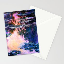 Monet : Water Lilies Stationery Cards