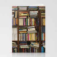 books Stationery Cards featuring books by laika in cosmos
