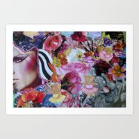 Beauty Jumble Art Print