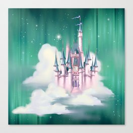 Star Castle In The Clouds Canvas Print