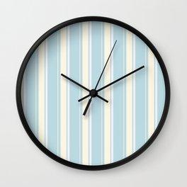 Ice bars stripes Wall Clock