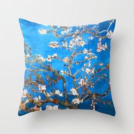 Vincent Van Gogh - Almond Blossom Throw Pillow