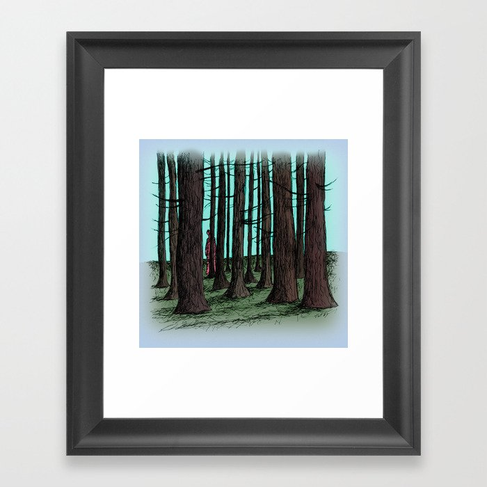 To Dance and Paint Framed Art Print