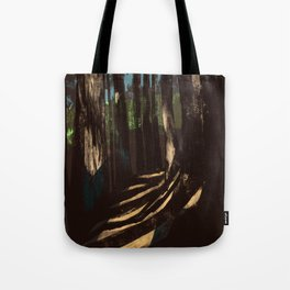 Path Through the Redwoods Tote Bag