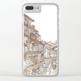 Xitang.China.River Village Clear iPhone Case
