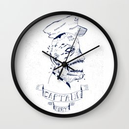 Captain Fury Wall Clock