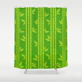 Evergreen Chinese Bamboos Shower Curtain