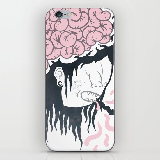 ive got worms in my head iPhone Skin