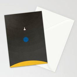Don't Fear The Dark. Go Further. Stationery Cards