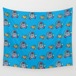 Rock Star Cats Wall Tapestry