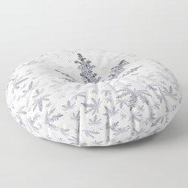 Dust of Snow Floor Pillow