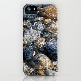 Sea of Pebbles iPhone Case