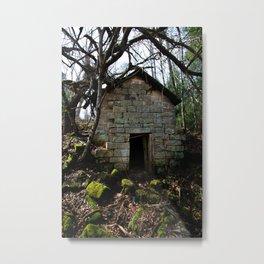 Hand cut cellar of old Metal Print