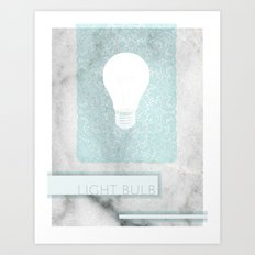LIGHTBULB Art Print