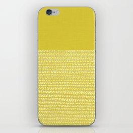 Riverside(Yellow) iPhone Skin