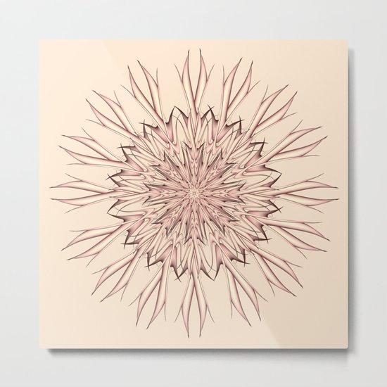 Mandala pastel Metal Print