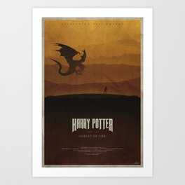 The Goblet of Fire Art Print