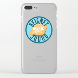 Beignet Squad Clear iPhone Case